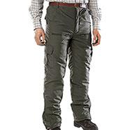 Pantaloni da caccia Hunting Green Imbottiti
