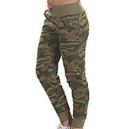 Pantaloni Donna Camouflage