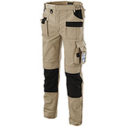 Pantaloni da Lavoro Beige Professional Multitasche