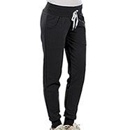 Pantaloni Felpati Donna Black