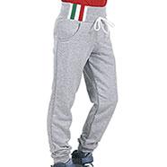 Pantaloni Bambino Felpati Grey Mélange