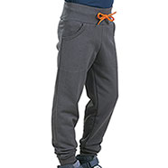 Pantaloni Bambino Grey Orange Fluo