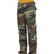 Pantaloni Bambino US Woodland BDU Style