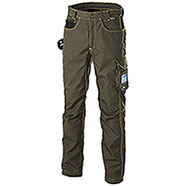 Pantaloni da lavoro Cofra Teck Wear Green Black Antimacchia