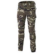 Pantaloni uomo Bull Camouflage Green