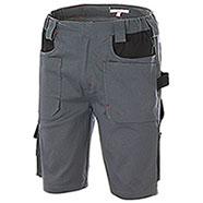 Bermuda Work Professional Big Pockets Grey