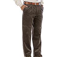 Pantaloni Velluto uomo  Visconti di Modrone Kalibro Brown