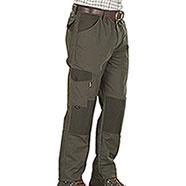 Pantaloni caccia Kalibro Classic Green Canvas e Cordura
