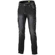 Jeans uomo Diadora Utility Cargo Stone Black Elasticizzati