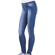 Leggings-Jeans Donna Carrera Super Stretch Medium Blu