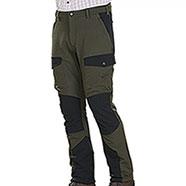 Pantaloni caccia Kalibro Tecno Stretch Green Black