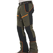 Pantaloni caccia Kalibro Tecno Stretch Green Orange Black