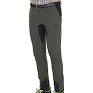 Pantaloni Kalibro Slim-Fit Light Green Black Stretch