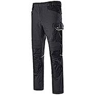 Pantaloni Lavoro Diadora Utility Carbon Stretch Asphalt