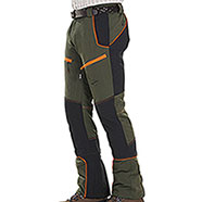 Pantaloni Kalibro Tecno Stretch Evò Green Orange Black