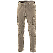 Pantaloni Cargo uomo Fashion Stretch Kaki