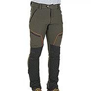 Pantaloni Caccia Elasticizzati Green Orange Black