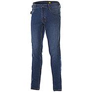 Jeans uomo Diadora Utility Denim Stone Blu Elasticizzati