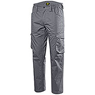 Pantaloni uomo Diadora Utility Staff Light Cotton Steel Grey