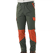 Pantaloni Kalibro Hunter Cotton Stretch Green Cordura Orange