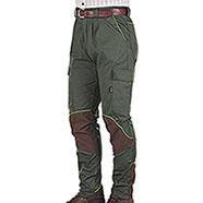 Pantaloni Kalibro Hunter Evò Cotton Stretch Green Cordura Brown