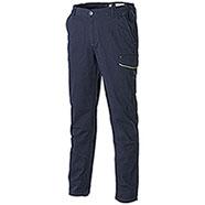 Pantaloni Zurig Stretch Multipocket Navy