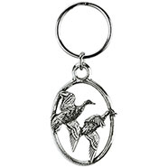 Open Wings Mallard Key-Ring
