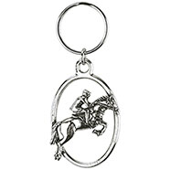 Jockey Key-Ring