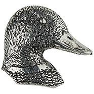 Duck's Head Brooch