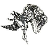 Retrevier Dog Brooch