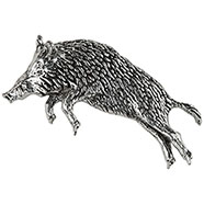 Wild boar's jump