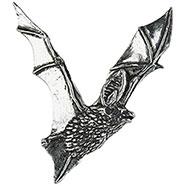 Open Wings Bat Brooch