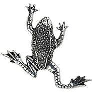 Hopping Frog Brooch
