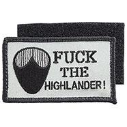 Patch Ricamato Fuck The Highlander