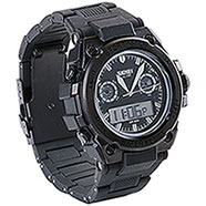 Orologio Dual Time Black New