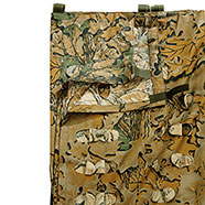 Woodland Camouflage Sheet with Leaf Effect