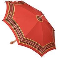 Ombrello da Campagna Romano Balzato Rosso stecche Bambù