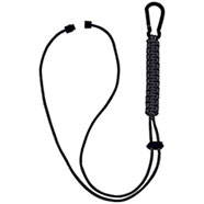 Paracord Lanyard Black
