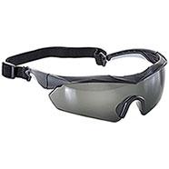 Occhiali Balistici Black Frame Smock Lenses EN:166