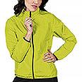 Giubbino Donna RipStop Impermeabile Yellow Fluo Cerniere YKK