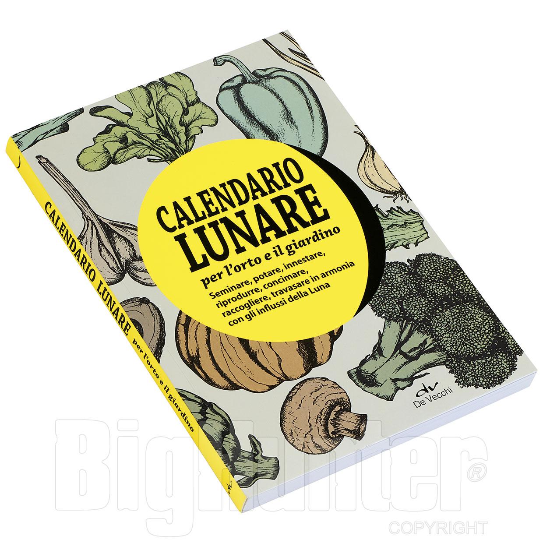 Calendario Lunare Potatura.Libro Calendario Lunare De Vecchi Editore