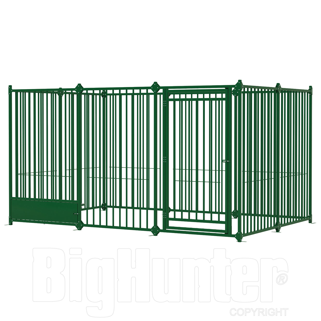 Ferplast recinto per cani modulare dog pen 3x2 for Recinto in legno per cani