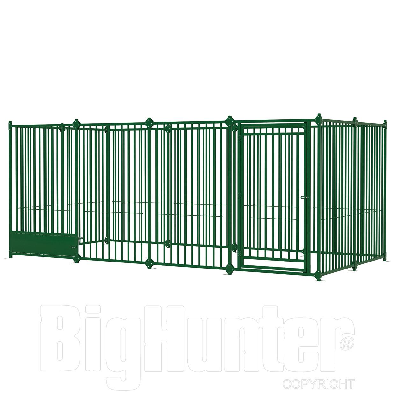 Ferplast recinto per cani modulare dog pen 4x2 for Recinto elettrico fai da te