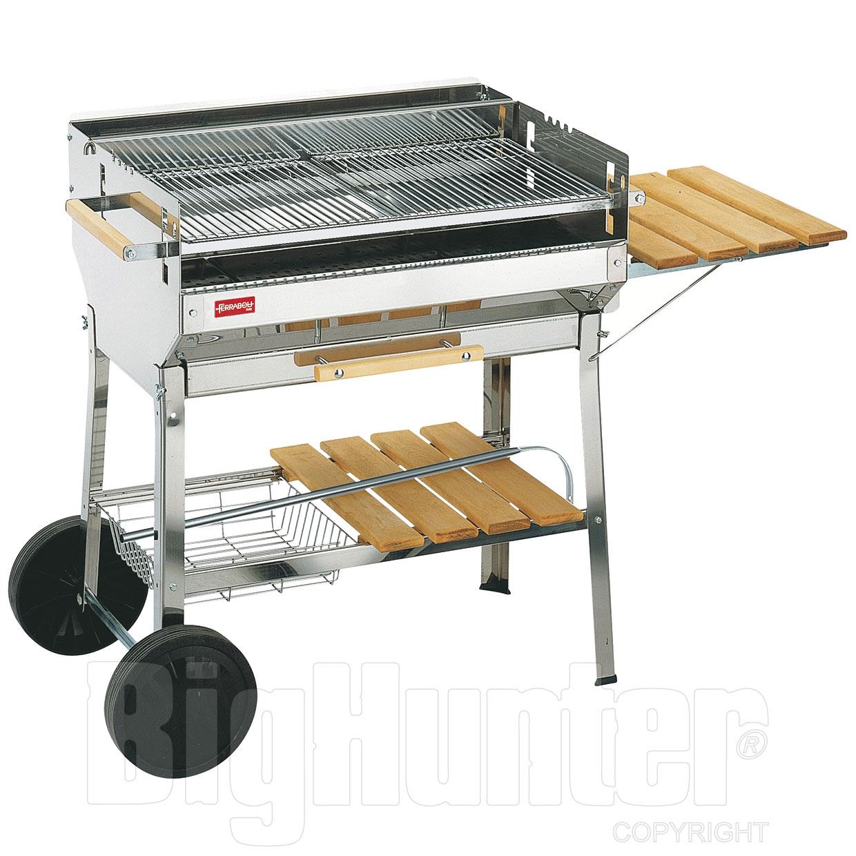 barbecue a carbonella ferraboli euro inox aisi 430. Black Bedroom Furniture Sets. Home Design Ideas