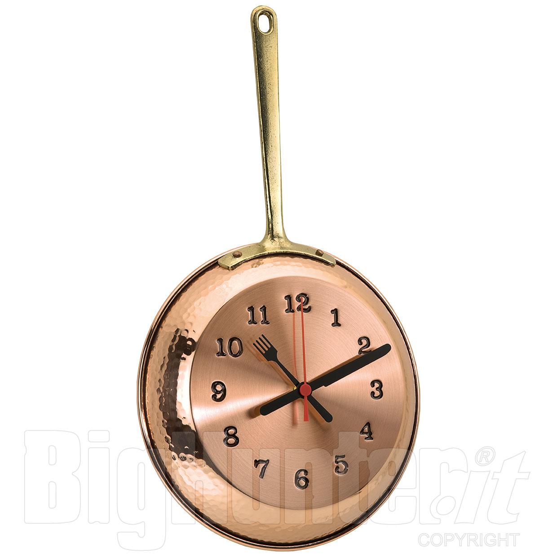 Orologio da parete padella copper - Telefoni a parete ...