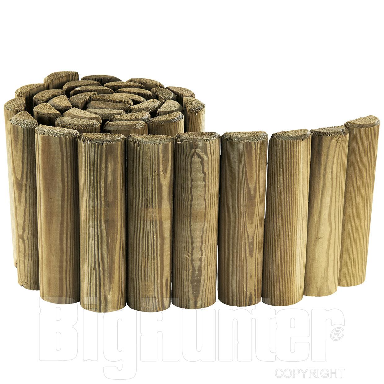 recinzione legno per aiuole bassa