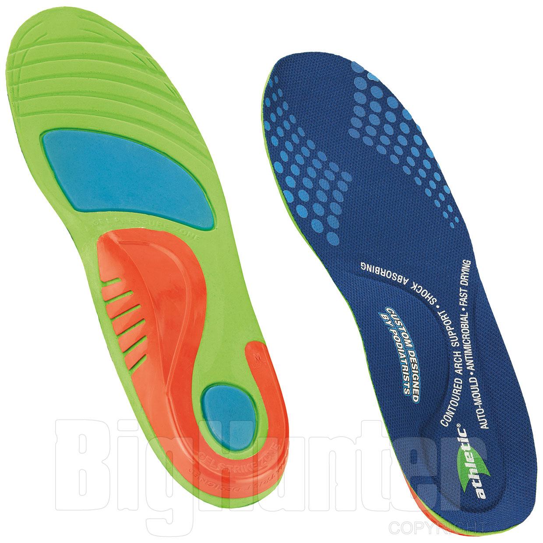 buy popular 5e401 4c4aa Soletta scarpe Athletic Antishock Arco Plantare