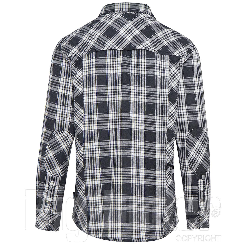Dettagli su Camicia cotone da lavoro manica lunga modello ATLANTIC Diadora