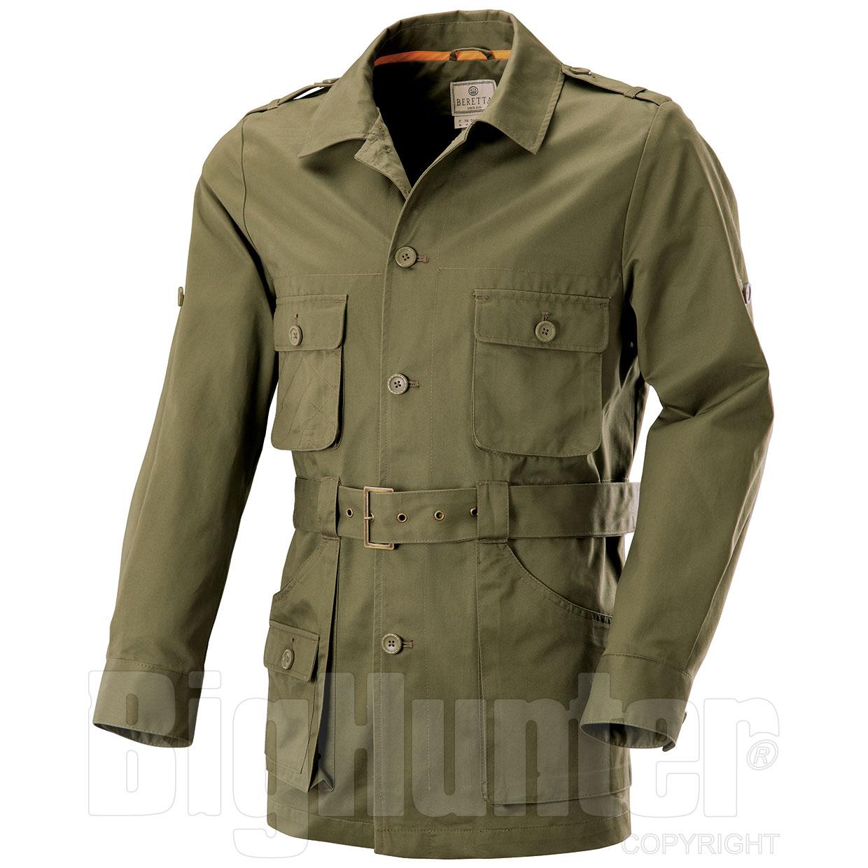 nuovi stili 0978a a503a Giacca Sahariana Beretta Safari Green