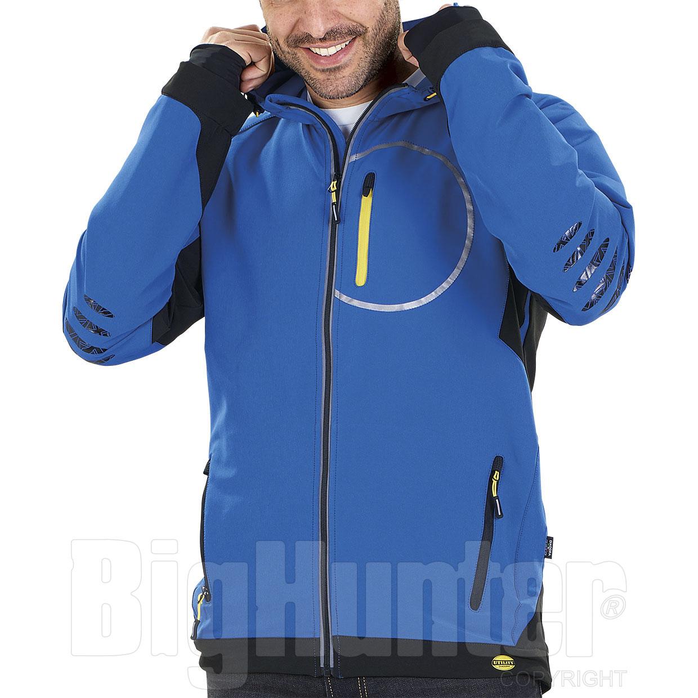 Giacca uomo Diadora Utility Trail Blu Micro